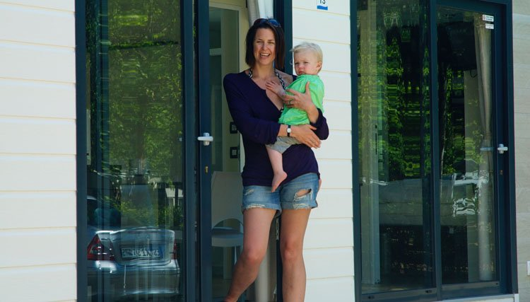 Gusto Baby - Moeder met kind