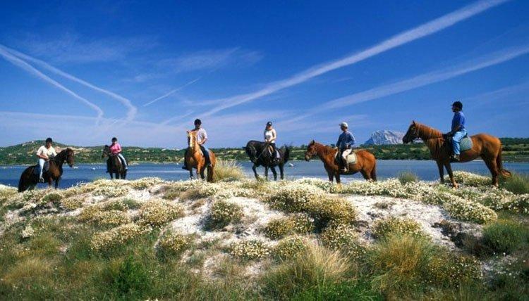 Sardinië - paardrijden