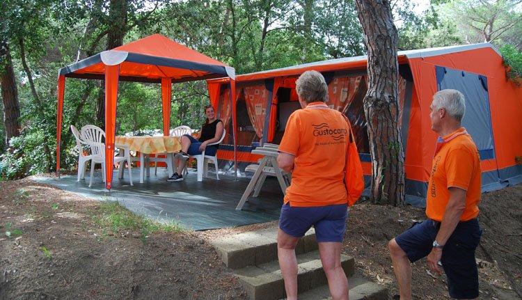 Camping Etruria - Bungalowtent