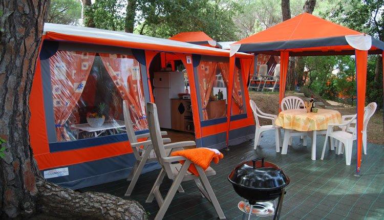 Camping Etruria - Bungalowtent 1