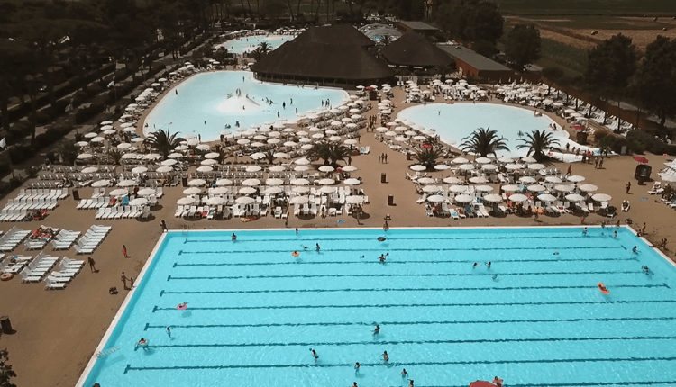 Park Albatros - Overview Zwembad